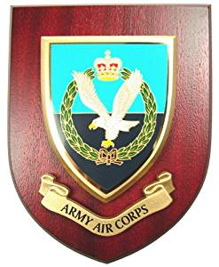 AAC Army Air Corps Wall Mess Plaque