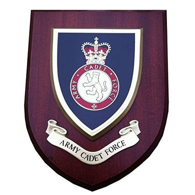 ACF Army Cadet Force Military Wall Plaque
