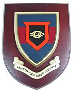 Guards Armoured Division Mess Wall Plaque