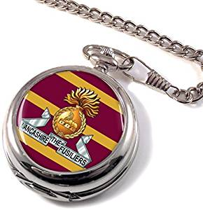 Lancashire Fusiliers Full Hunter Pocket Watch