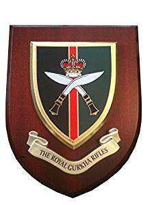 Royal Gurkha Rifles Wall Mess Plaque