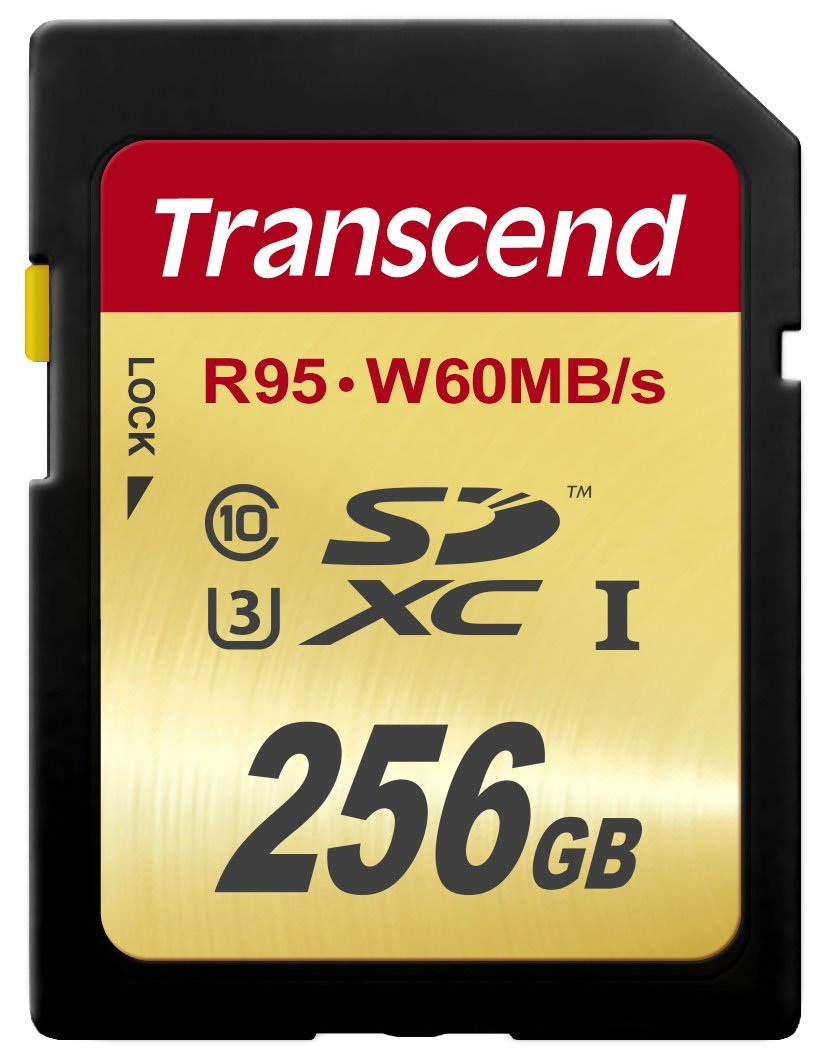 Memoria Transcend TS256GSDU3 256 GB High Speed 10 UHS-3 95/60 MB/s