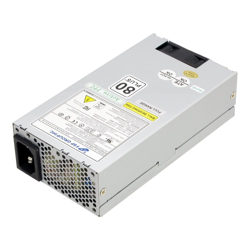 FSP Group Mini ITX / Flex ATX 220W 80 PLUS Certified Active PFC Power Supply FSP220-60LE(80)