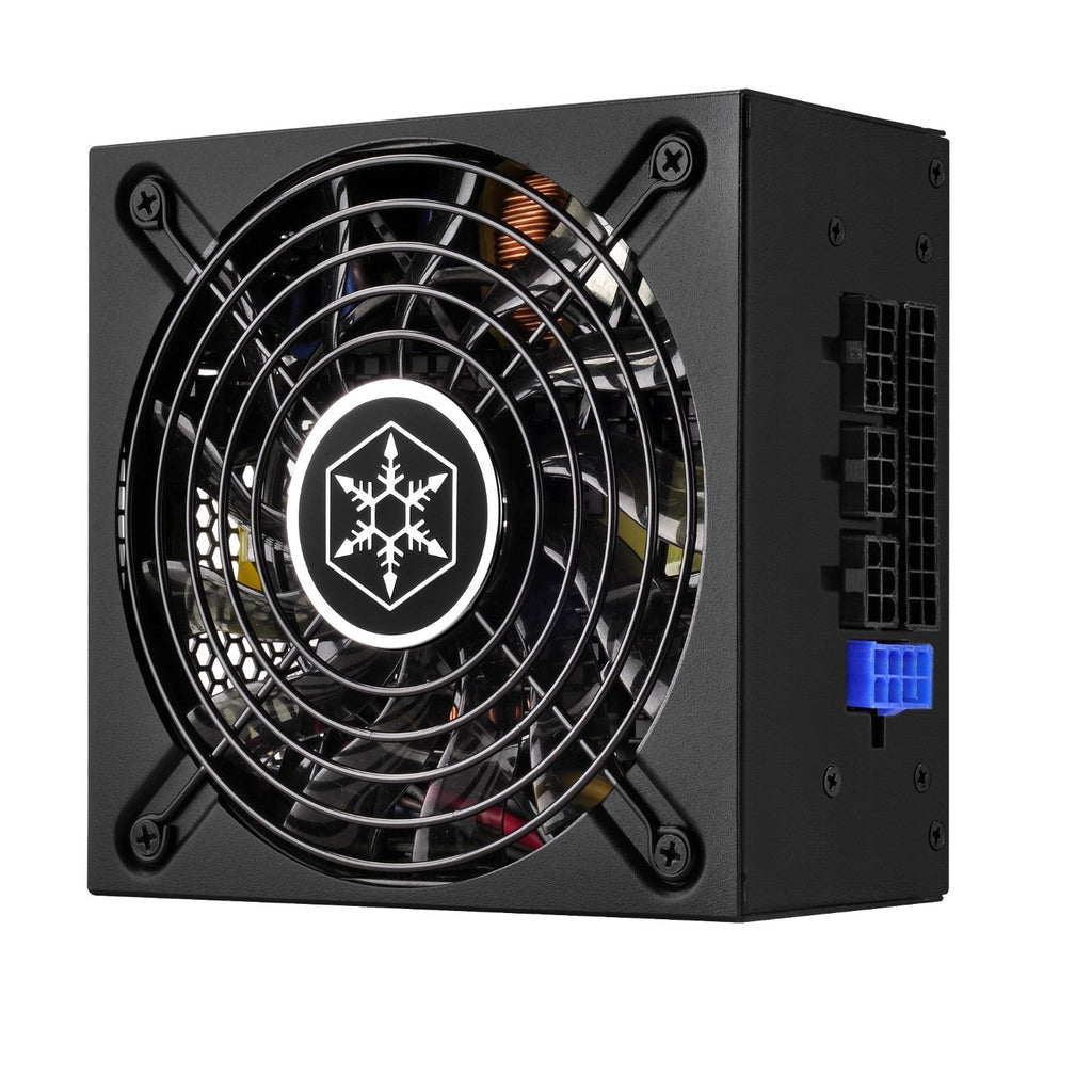 Silverstone Tek 500W SFX-L 80 PlUS Gold Full Modular SFX Form Factor Lengthened Active PFC Power Supply SFX12V 500 Power Supply SX500-LG