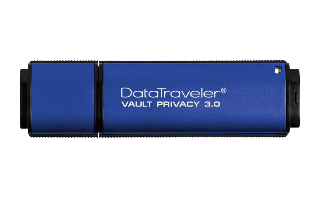 Kingston Digital 4GB Data Traveler AES Encrypted Vault Privacy 256Bit 3.0 USB Flash Drive (DTVP30/4GB)