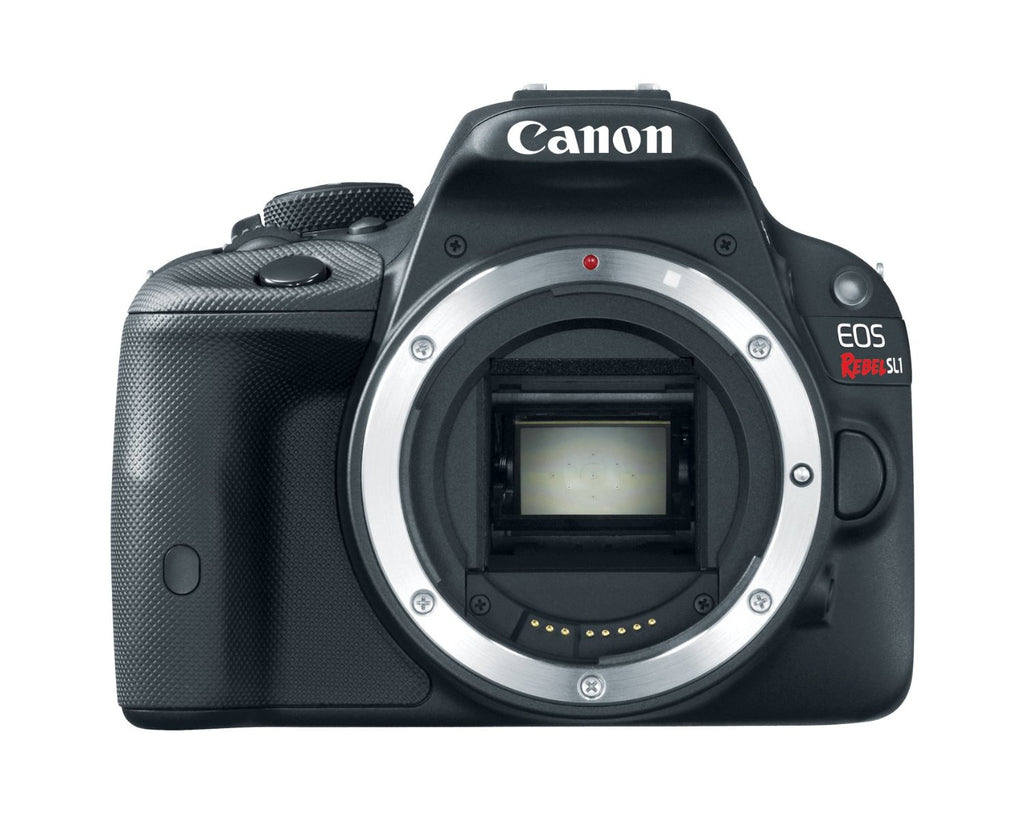 "Canon EOS Rebel SL1 Digital Camera (Body Only) - 3"" LCD Display, 18 MP, SLR, CMOS, DIGIC 5, 1920 x 1080 Video, AF Illuminator, Composite Video, HDMI, USB - 8575B001"