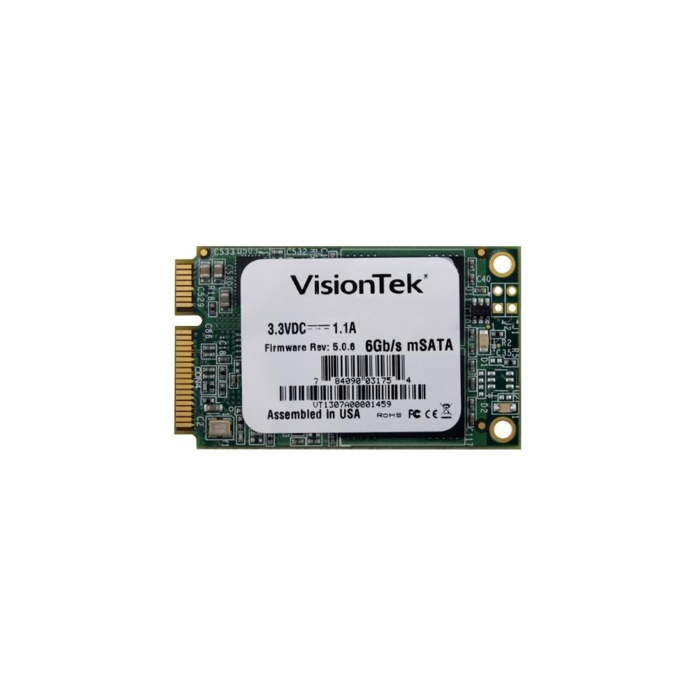 Disco De Estado Solidov Visiontek 900613, 480GB, Mini SATA