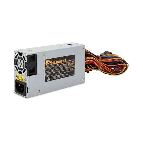 "SolidGear Flex 320W Power Supply - ATX, 40mm Fan, 15"" Long Cables, Low Ripple & Noise, Short Circuit, Over Voltage, Over Power Protection (FLEX-320)"