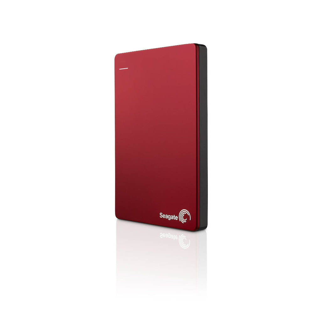 Dd Ext 1 Tb Seagate 2.5 Backup Plus Portatil Usb 3.0/2.0 Rojo C/SOFT Respaldo WIN/MAC