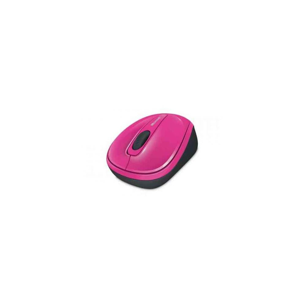 Microsoft Wireless Mobile Mouse 3500 Bluetrack Wireless Radio Frequency Magenta Pink Usb 2.0 1000 Dpi Scroll Wheel 3 Buttons Symmetricalshow More Gmf00278