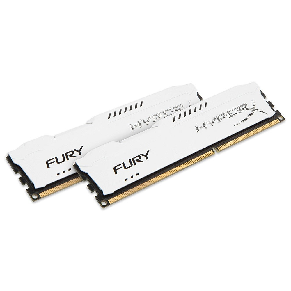 Memoria RAM Kingston HyperX FURY White HX313C9FWK2/8,  8GB (2x4GB)  1333MHZ DDR3 240-pin DIMM