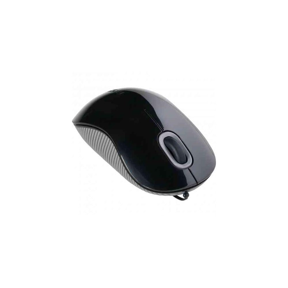 Targus Amu76Us Cordstoring Optical Mouse Optical Usb Black Gray