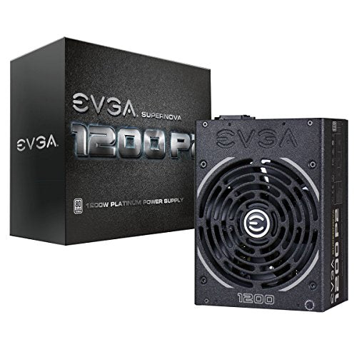 eVGA SuperNOVA 1200 P2 - Power supply ( internal ) - 80 PLUS Platinum - AC 100-240 V - 1200 Watt