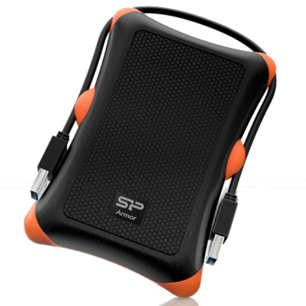 Disco Duro Externo Silicon Power Rugged Armor A30, 1TB USB 3.0 Shockproof -Negro