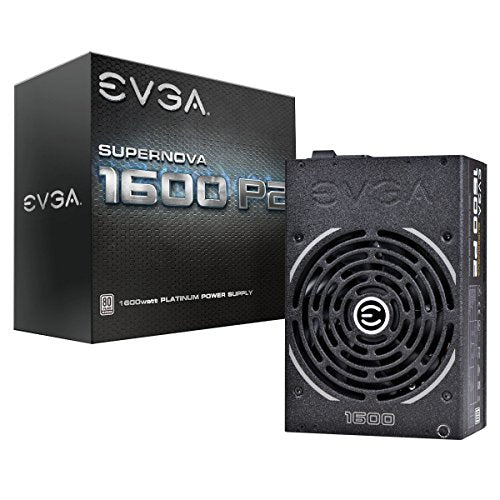 eVGA SuperNOVA 1600 P2 - Power supply ( internal ) - 80 PLUS Platinum - AC 115-240 V - 1600 Watt