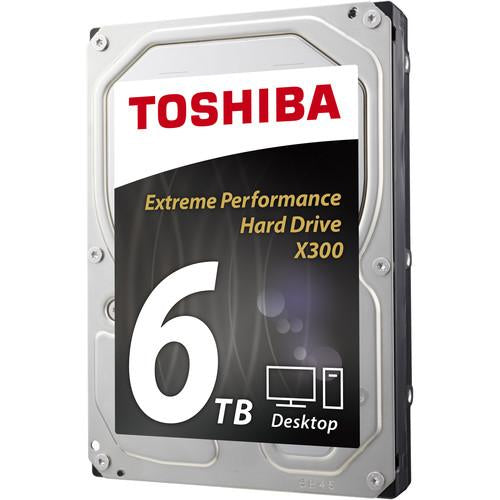 Dd Interno Toshiba X300 3.5 6TB/SATA 3/6GB/S/128MB/7200RPM/PC/GAMER/ALTO Rendimiento
