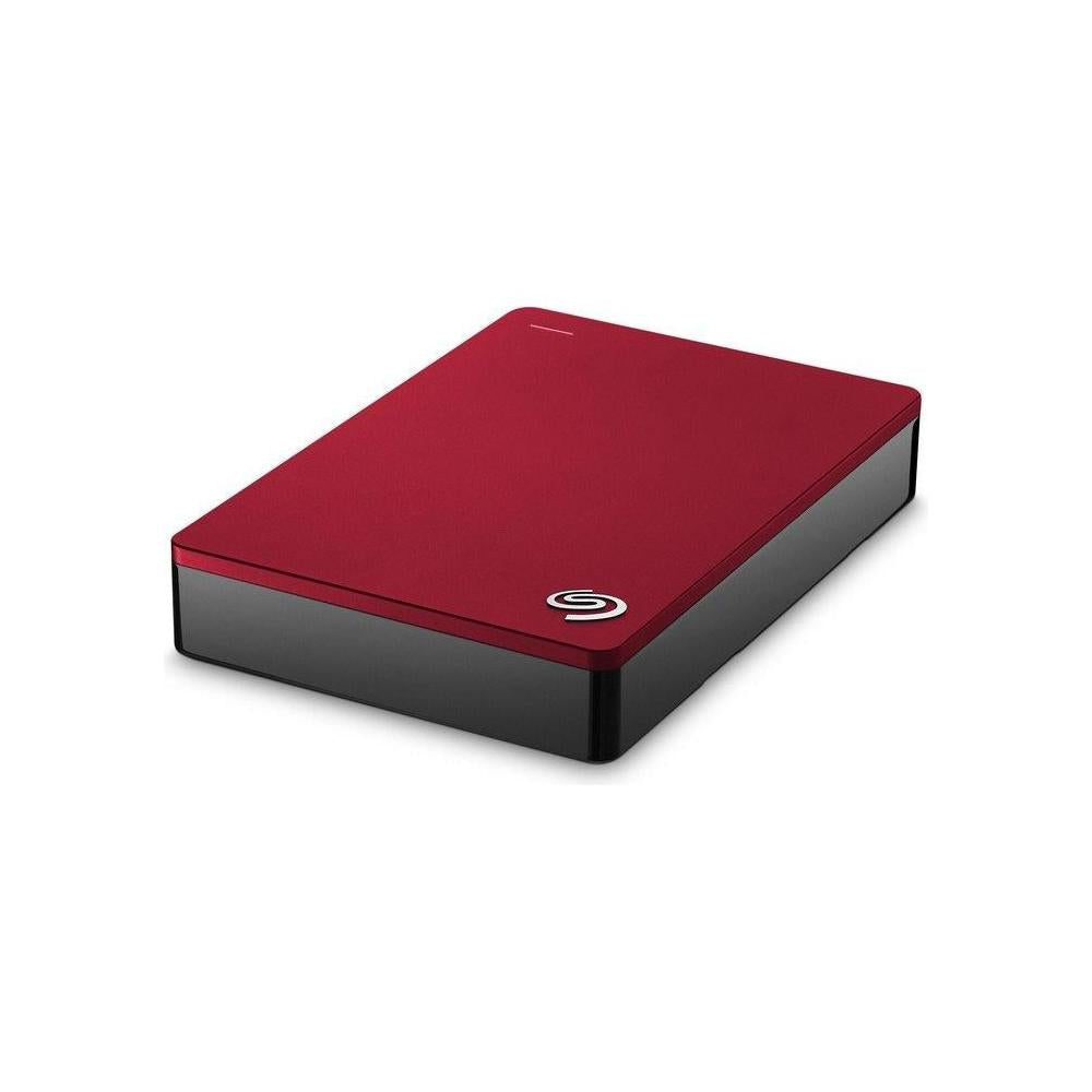 "Seagate Backup Plus STDR4000902 4 TB 2.5"" External Hard Drive - USB 3.0 - Portable - Red - STDR4000902"