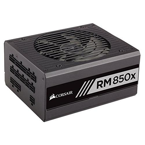 Corsair RMx Series, RM850x, 850 Watt (850W), Fully Modular Power Supply, 80+ Gold Certified, 10 Year Warranty