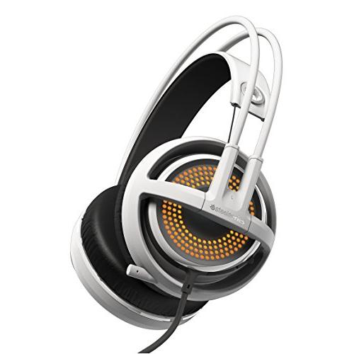 SteelSeries Siberia 350 Headset - Stereo - White - USB - Wired - 10 Hz - 28 kHz - Over-the-head - Binaural - Circumaural - 4.92 ft Cable - 51204