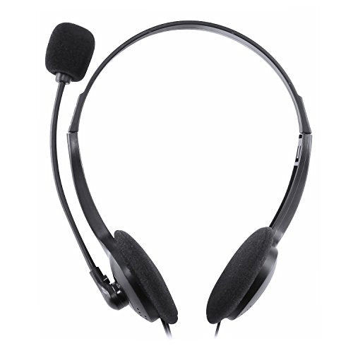 Insten VOIP / SKYPE Hands-free Headset with Microphone, Black