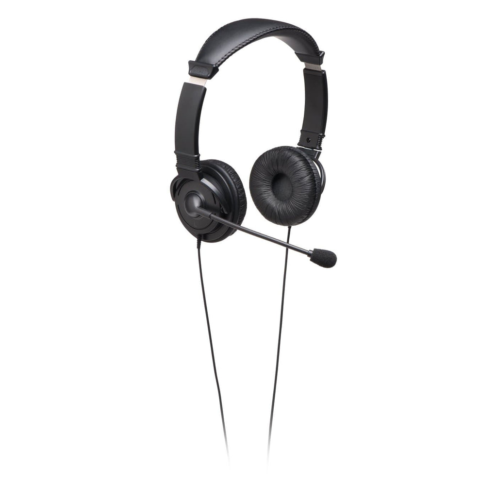Kensington Hi-Fi On-Ear Headphones with Mic and 9-Foot Cord (K33323WW)