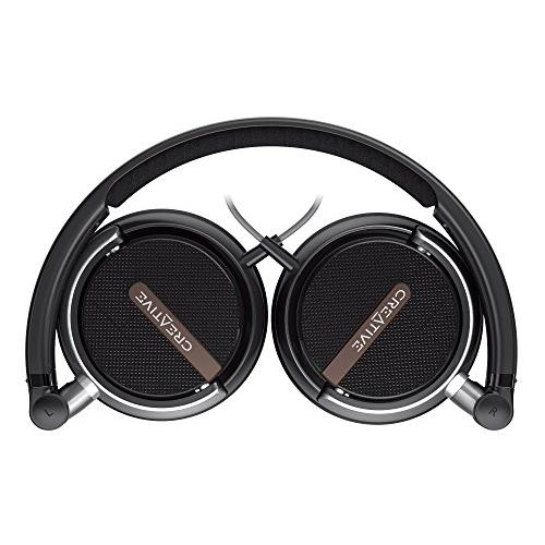 Creative Flex Ultra-light On-ear Headphones (Black)