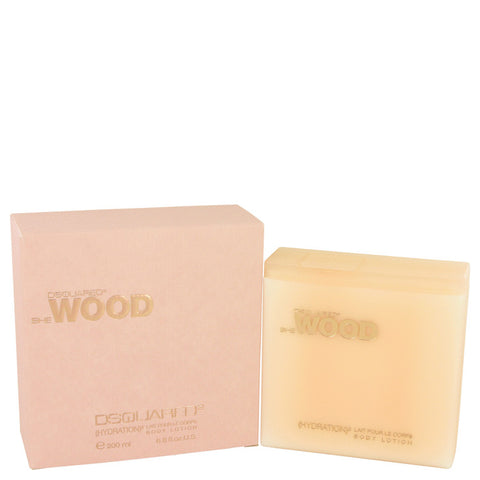 She Wood by Dsquared2 Body Lotion 200ml/6.8oz Para Mujer