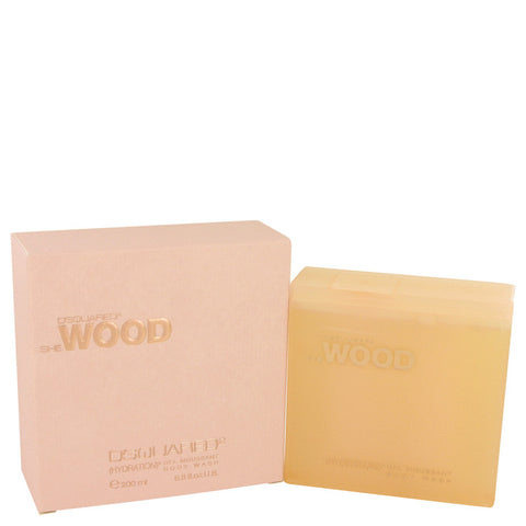 She Wood by Dsquared2 Shower Gel 200ml/6.8oz Para Mujer