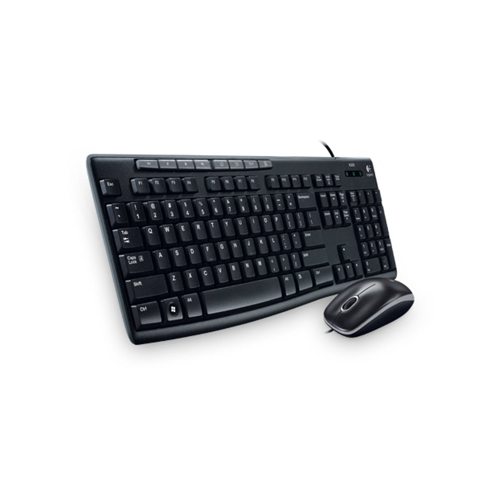 Logitech Desktop Mk200 Mouse & Keyboard Combo 920002714