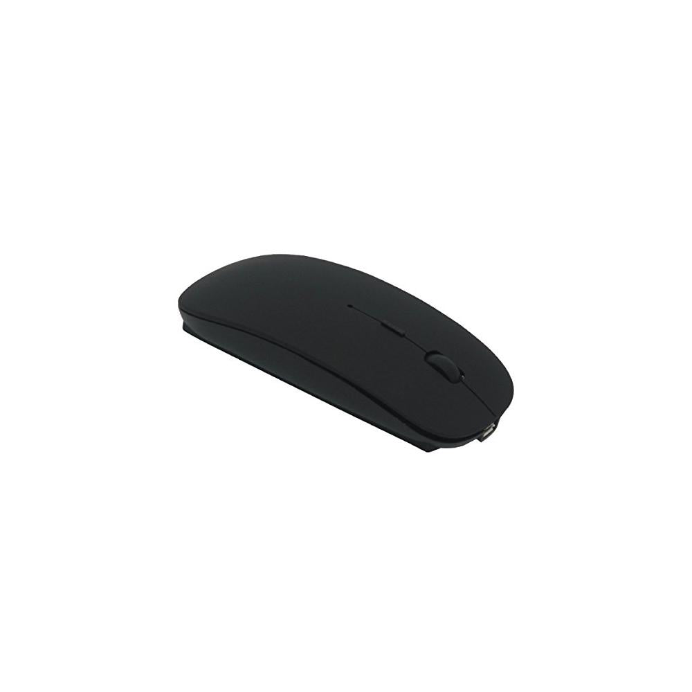 Tsmine Bluetooth Mouse Rechargeable Wireless Mouse 5 Buttons For Notebook Pc Laptop Computer Macbook Black