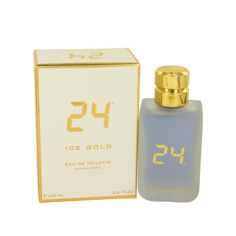 24 Ice Gold de ScentStory Eau De Toilette Spray 100ml/3.4oz para Hombre