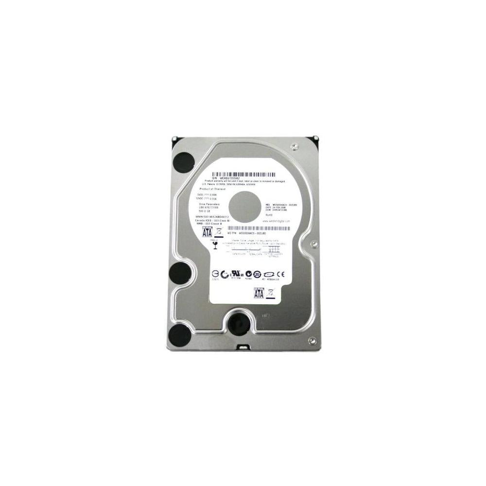 Western Digital Caviar Green WD5000AACS 500GB 5400 to 7200 RPM 16 MB Cache SATA 3.0 Gb/s Hard Drive