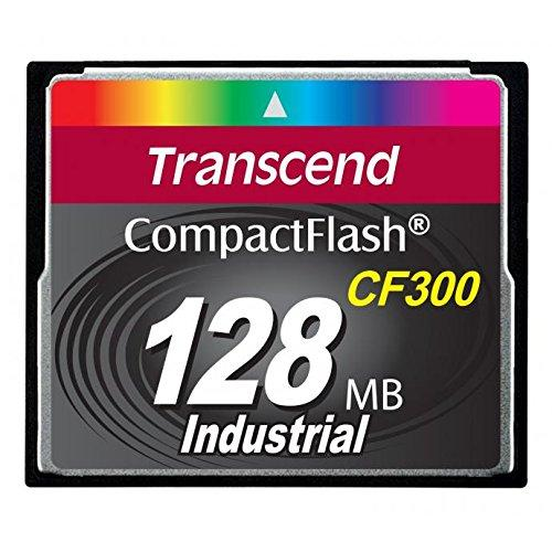 TRANSCEND INFORMATION TS128MCF300 128MB CF Card (300X, UDMA5, TYPE I)