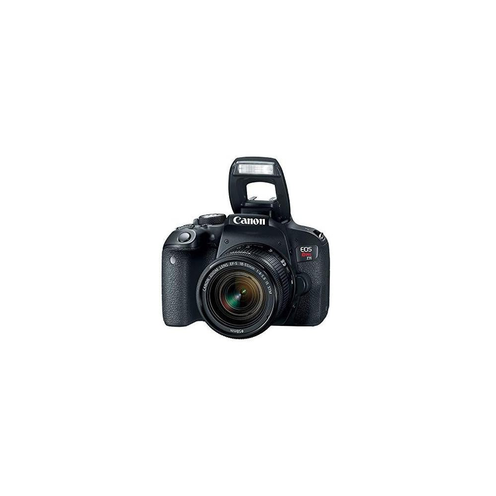 Canon EOS Rebel T7i Camera, EF-S 18-55 IS STM Lens Kit, Lexar 64GB, Ritz Gear Premium SLR Camera Bag, Polaroid...