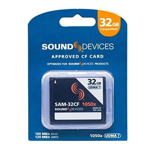 Sound Devices SAM-32CF (32GB CompactFlash Card)