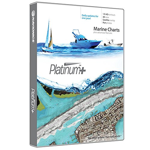 Navionics Platinum+ SD 638 Puget Sound Nautical Chart on SD/Micro-SD Card - MSD/638P+