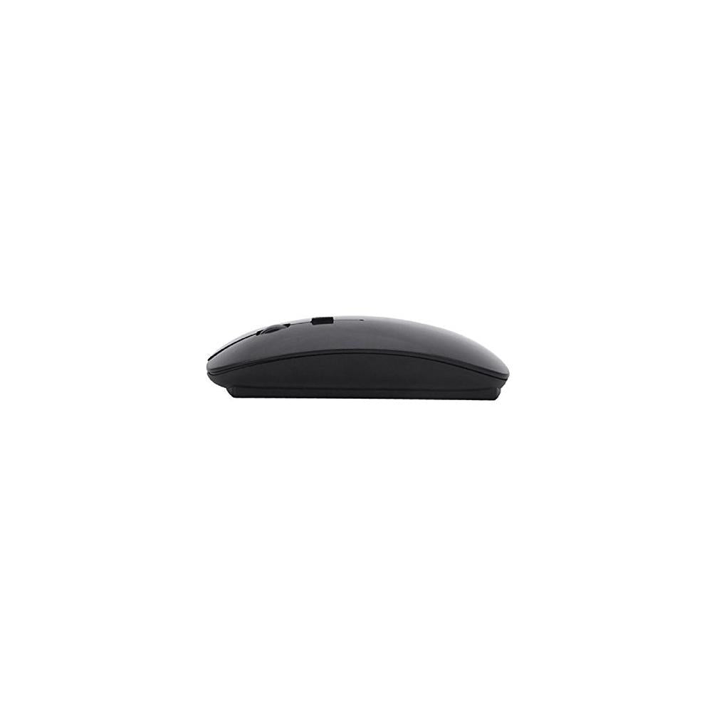 Perman Slim 2.4 GHz Optical Wireless Mouse Mice with USB Receiver for Macbook Computer PC Laptop Gamer Black