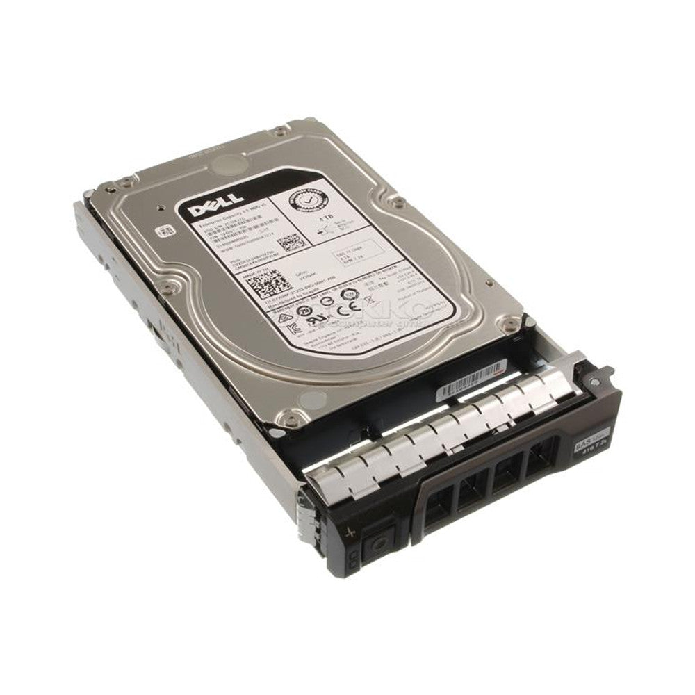 "YXG4K - DELL ORIGINAL 4TB 7.2K SAS 3.5"" 12Gb/s HDD WITH 13 GEN TRAY COMPATIBLE WITH PowerEdge R230 R330 R430 R530 R730 R730XD T330 T430 T630"