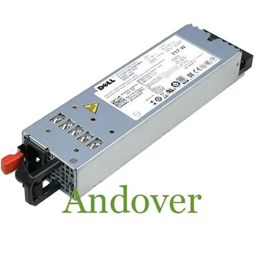 Dell 717-Watt Redundant Power Supply for PowerEdge R610 Servers / PowerVault NX3600/ NX3610 Storage Systems. Mfr P/N: 0FJVYV