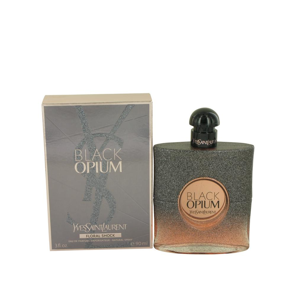Black Opium Floral Shock de Yves Saint Laurent Eau De Parfum Spray 90ml/3oz para Mujer