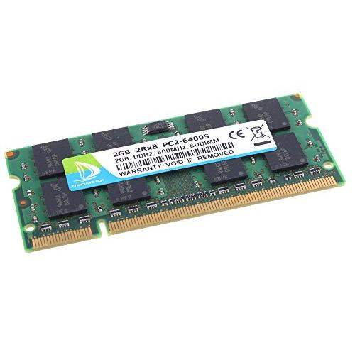 DUOMEIQI NEW 4GB (2X 2GB) DDR2 2RX8 PC2-6400S 800MHz 200pin 1.8v SODIMM Notebook Laptop Memory RAM Modules with