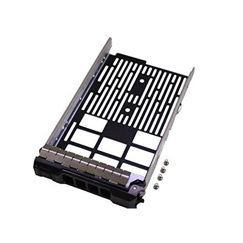 "New 3.5"" SAS SATA Hard Drive Tray Caddy Replacement for Dell PowerEdge T330 T430 T630 R230 R330 R430 R530 R630 R730 R730XD R930 series,Compatible part number KG1CH 0KG1CH"