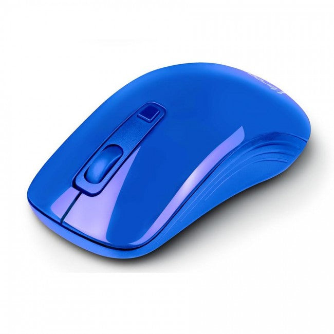 MOUSE VORAGO MO-102 AZUL OPTICO ALAMBRICO