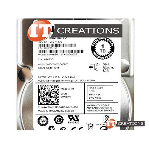 DELL ST91000640SS-D 1TB SAS 7200RPM 6Gbps Hard Drive