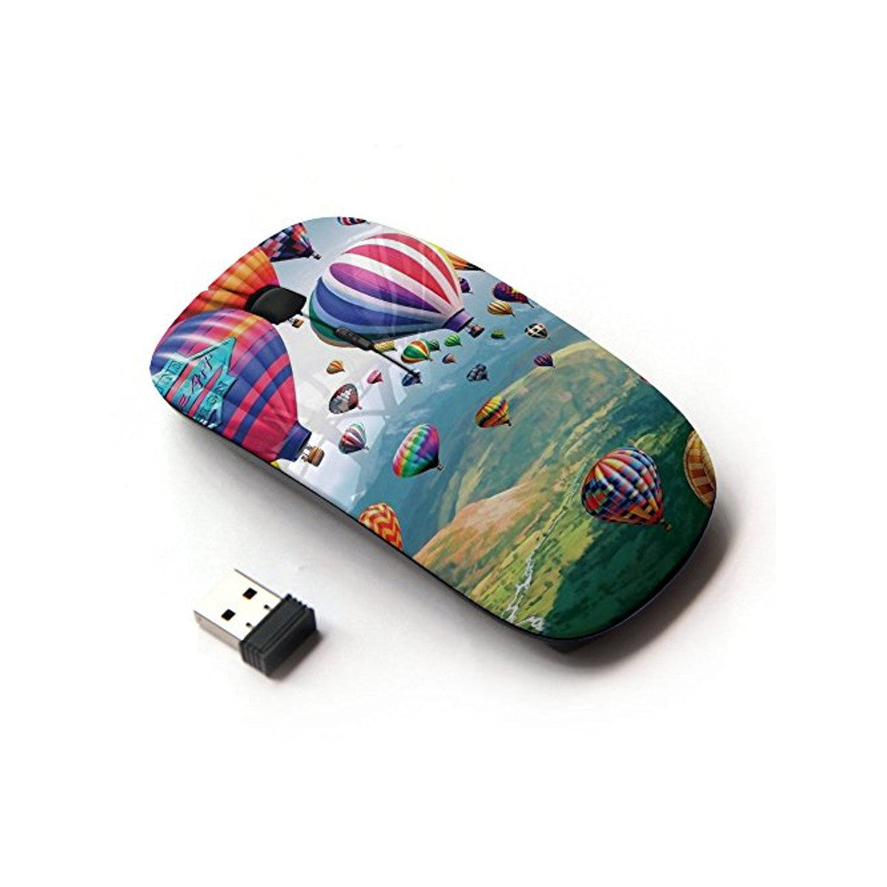 KOOLmouse [ Optical 2.4G Wireless Mouse ] [ Balloon Hot Air Flying Nature Sky ]