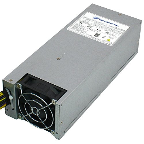 FSP Group 700W PMBus V1.2 ATX Power Supply Single 2U Size 80 Plus Platinum Certified for Rack Mount Case (FSP700-80WEPB)