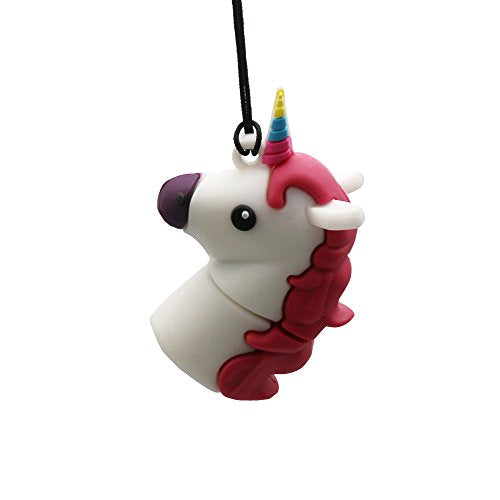 DBigness Cartoon Unicorn PVC USB Flash Drive 2.0 Lovely Cute Gift USB Flash Memory Disk USB Flash Stick Pen Drive (16GB)