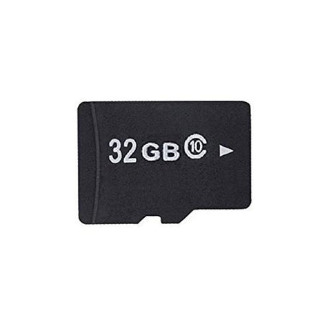 Quantum 32 GB Secure Digital Memory Card used for storage in cameras, cell phones, I pads, and other electronics with free adapter