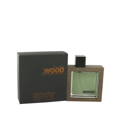 He Wood Rocky Mountain Wood de Dsquared2 Eau De Toilette Spray 3.4Oz / 100ml para Hombre