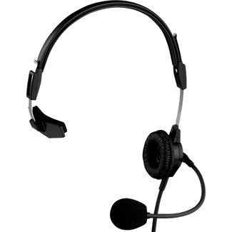 Telex PH-88R Lightweight Single Sided Headset for RTS, 150Hz-4kHz Frequency Range